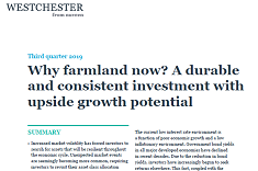 View post titled Why farmland now?